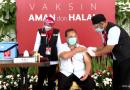 Ketua Umum DPP PPNI, Perawat Pertama Yang Di Vaksin di Istana Negara